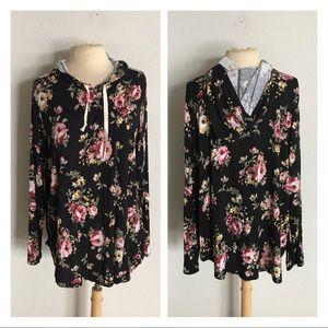 Loralette (Avenue) floral pullover